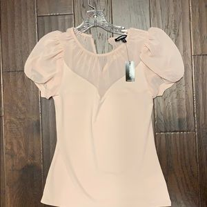 EXPRESS pale pink top